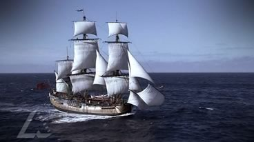 Captain Cook - The Polynesian Tupaia Joins the Endeavour Voyage