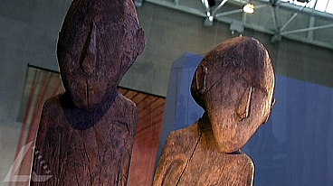 Max Ernst Collection & Lake Sentani Figures