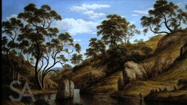 Figure in the Landscape