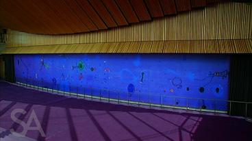 John Olsen's Opera House Mural