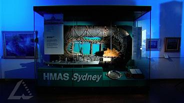 HMAS Sydney's Carley Float